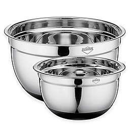 Keuchenprofi Non-Slip Stainless Steel Mixing Bowl