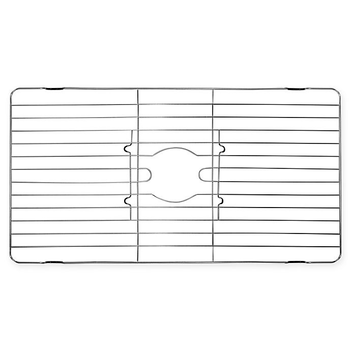 Alternate image 1 for Extra Large Stainless Steel Sink Protector