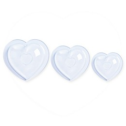 Mastrad® Chocolate Heart Molds (Set of 3)