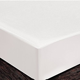 Healthy Nights™ Terry Fitted Mattress Cover in White