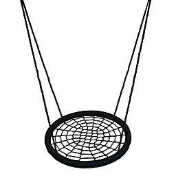 M&M Sales Enterprises Web Riderz® 46-Inch Rope Swing in Black