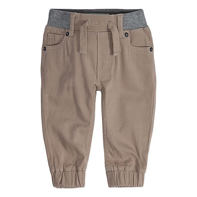 Alternate image 1 for Levi's® Size 3M Chino Twill Jogger Pant