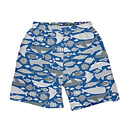i play.® Undersea Swim Trunks with Built-in Reusable Swim Diaper in Royal Blue