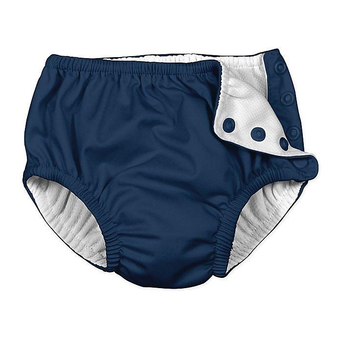 Alternate image 1 for i play.® Snap Swim Diaper in Navy