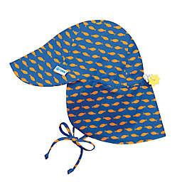 i play.® Goldfish Breathable Flap Sun Protection Hat in Royal Blue