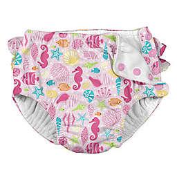 i play.® Sealife Snap Swim Diaper in Pink