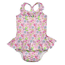 5b723833e4 ® Paisley Swimsuit with Built-In Swim Diaper ...