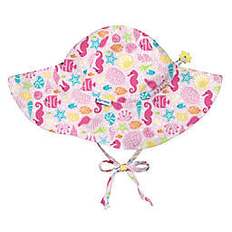 i play.® Size 9-18M Sealife Brim Sun Hat in Pink