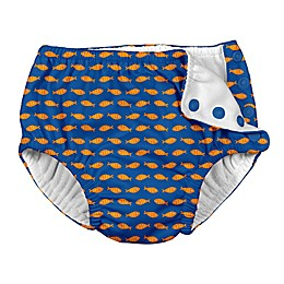 i play.® Goldfish Snap Swim Diaper in Royal