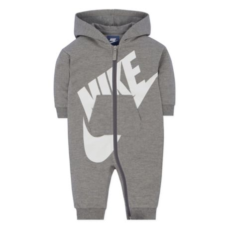 Nike 174 Futura Coverall In Heather Grey Buybuy Baby