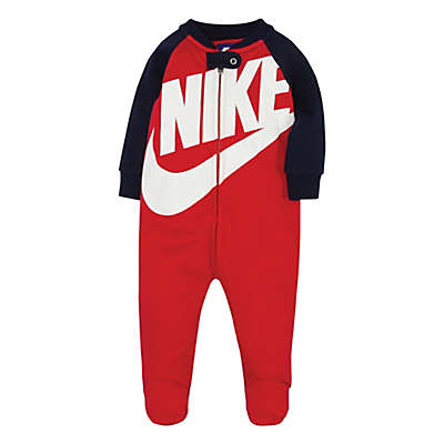 Nike® Futura Footie in Red/Navy