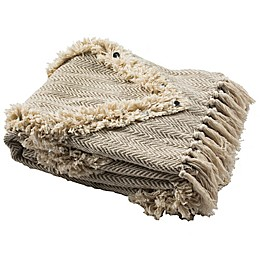Lachlan Fringe Throw Blanket