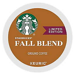 Keurig® K-Cup® Pack 16-Count Starbucks® Fall Blend 2018 Medium Roast Coffee