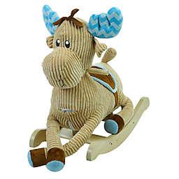 Rockabye™ Choco Moose Musical Rocker