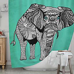 KESS InHousereg Elephant Of Namibia Shower Curtain