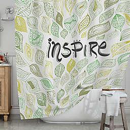 KESS InHousereg Inspire Nature Shower Curtain