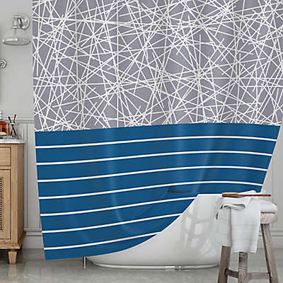 KESS InHouse® Odvojen Shower Curtain