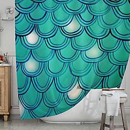 KESS InHousereg Mermaid Tail Shower Curtain