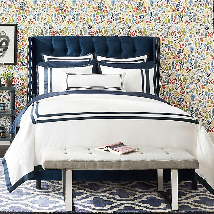 Alternate image 1 for Wamsutta® Hotel Border MICRO COTTON® Bedding Collection