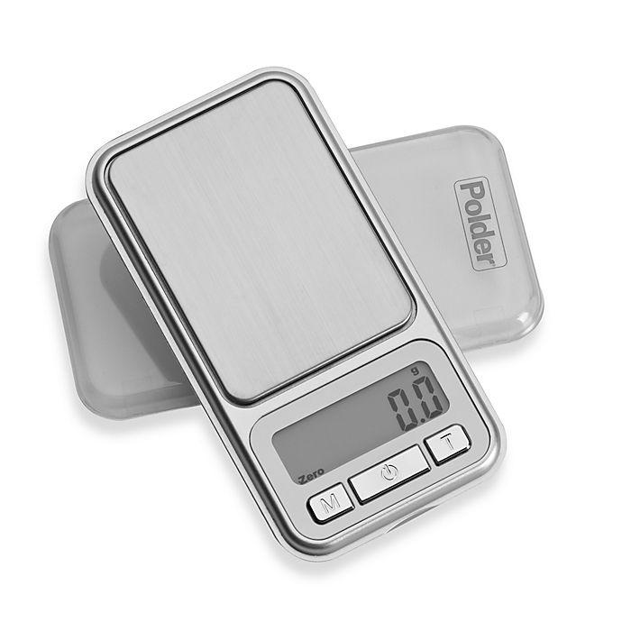 Alternate image 1 for Polder® Digital Pocket Portion Food Scale