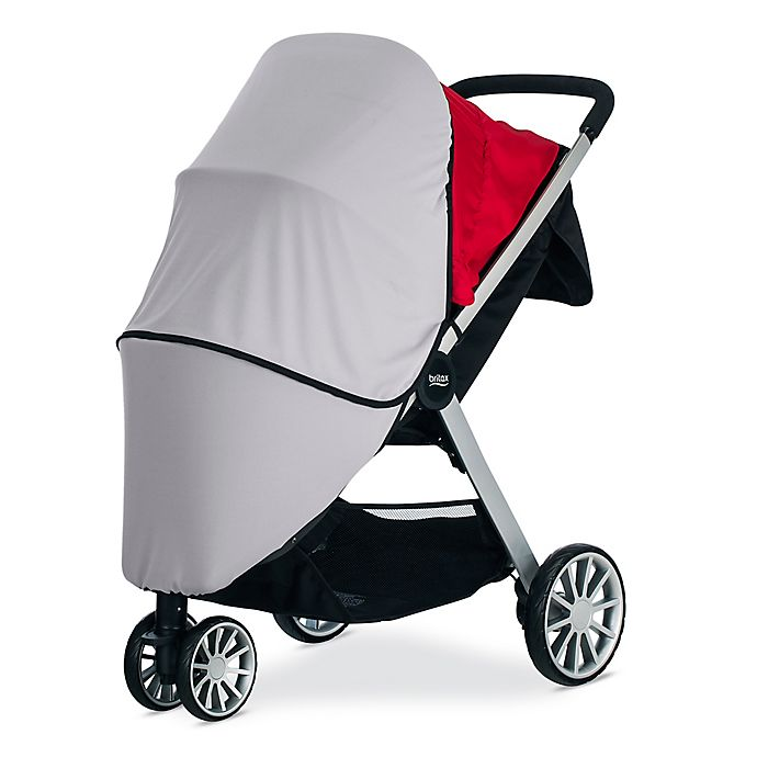 Alternate image 1 for BRITAX® B-Lively Sun and Bug Cover in Grey
