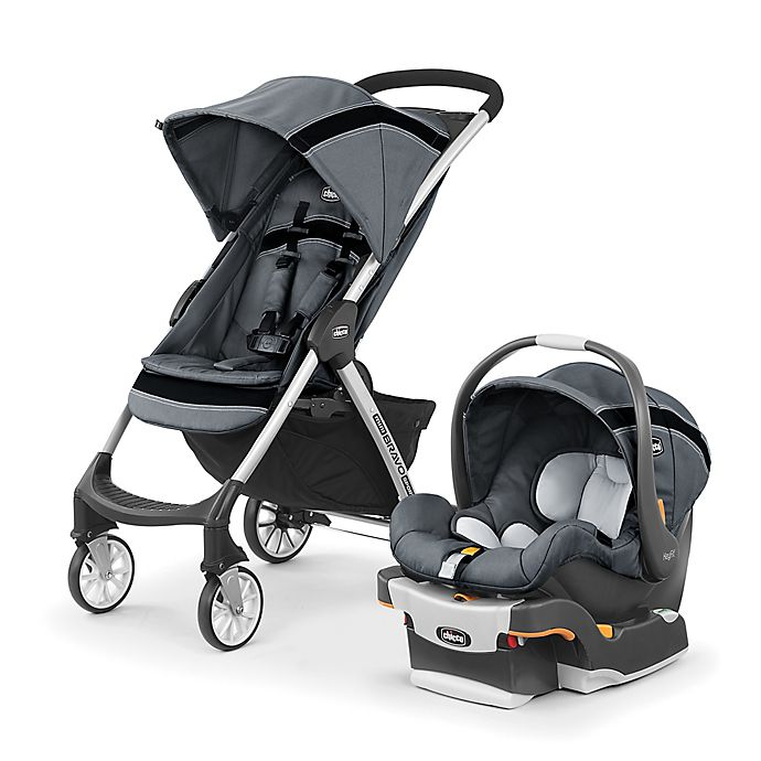 Chicco® Mini Bravo® Sport Travel System in Carbon | Bed ...