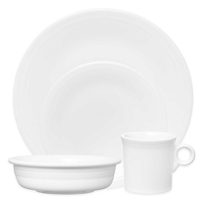 Alternate image 1 for Fiesta® Dinnerware Collection in White