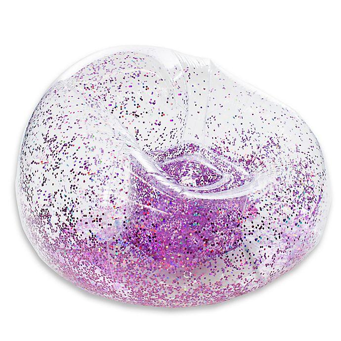 Alternate image 1 for Blochair™ Glitter Inflatable Chair