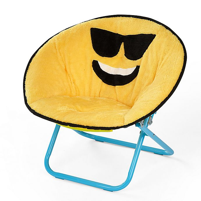Strange Heritage Kids Microfiber Emoji Chair Buybuy Baby Ocoug Best Dining Table And Chair Ideas Images Ocougorg