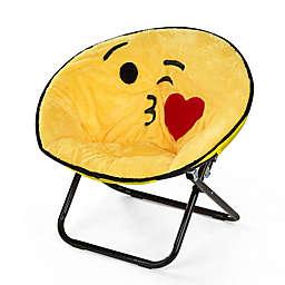 Heritage Kids Microfiber Emoji Chair