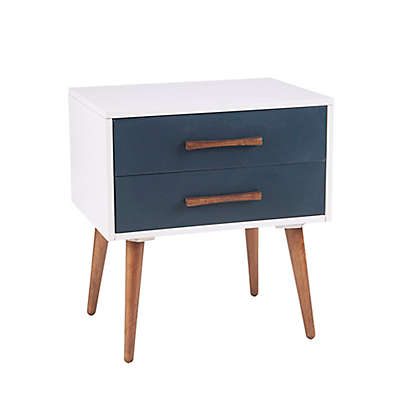 INK + IVY Jeremy Nightstand in White