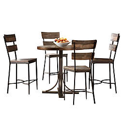 Hillsdale Furniture Jennings 5-Piece Counter-Height Dining Set with Stools