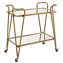 Linon Home Sera Bar Cart