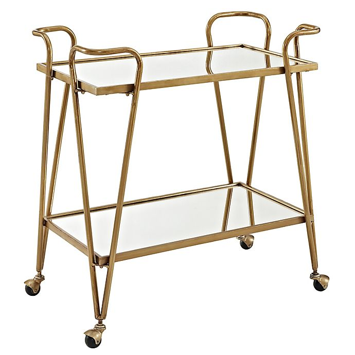 Alternate image 1 for Linon Home Sera Bar Cart