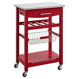 Linon Home Keagan Kitchen Cart