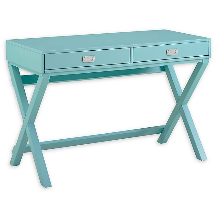 Alternate image 1 for Linon Home Décor Products Peggy X-Frame Writing Desk