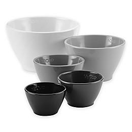 Rachael Ray™ 5-Piece Melamine Multicolor Nesting Measuring Cups Set