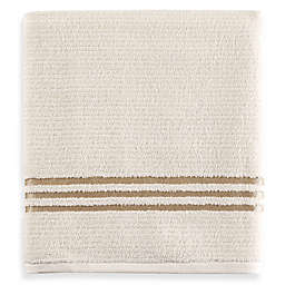 Evelyn Value Bath Towel in Ivory/Gold