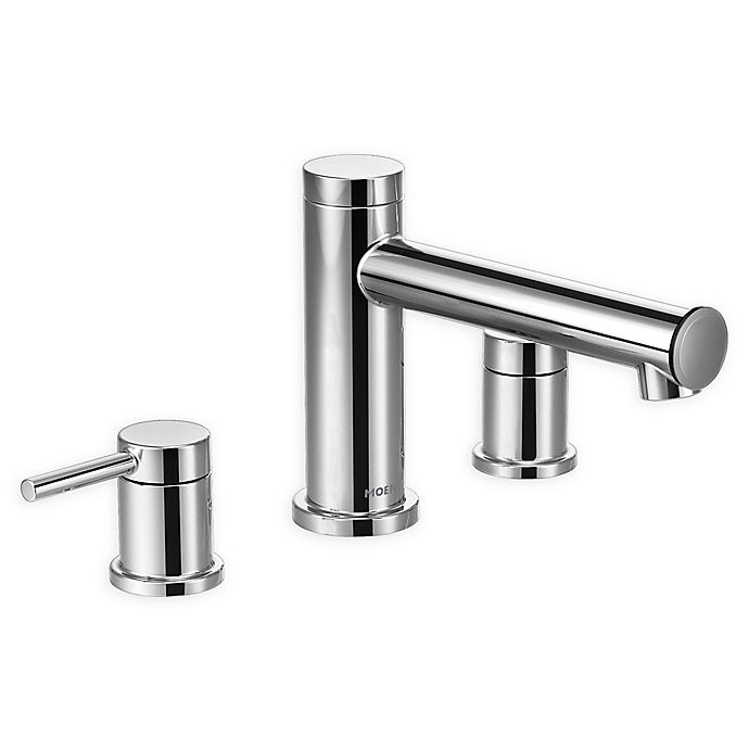 Moen Align 2 Handle Deck Mount Roman Tub Faucet Trim Kit Bed Bath