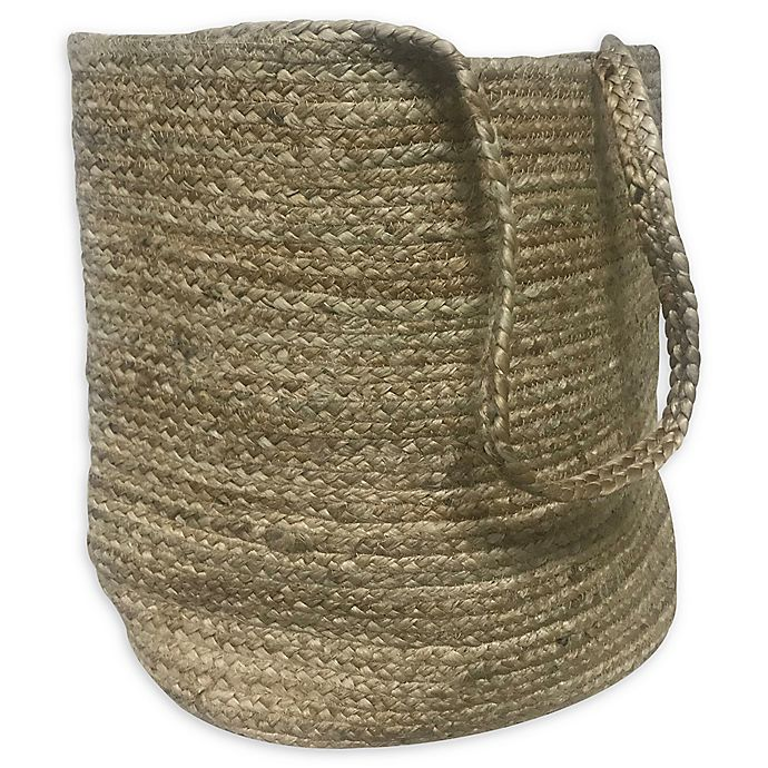 Alternate image 1 for Bee & Willow™ Home Jute Laundry Hamper in Natural