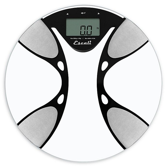 Alternate image 1 for Escali® Body Fat and Body Water Scale