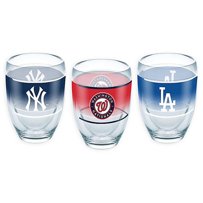 Alternate image 1 for Tervis® MLB 9 oz. Stemless Wine Glass Collection
