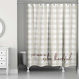 Designs Direct Festive Fall Shower Curtain Collection