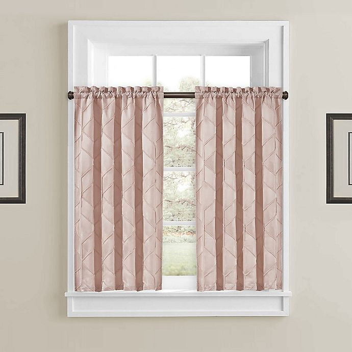Alternate image 1 for Horizons 45-Inch Window Curtain Panels in Blush (Set of 2)