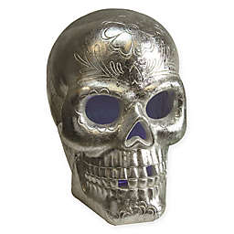 Northlight Day of the Dead LED Skull Halloween Decoration