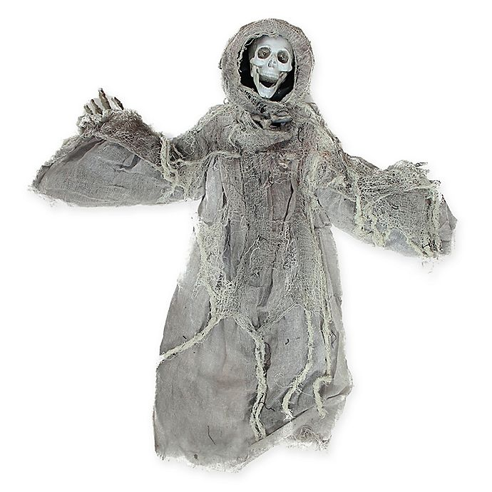 Alternate image 1 for Northlight 36-Inch Touch-Activated Reaper Halloween Decoration in White