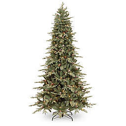National Tree Company® 7-1/2-Foot Pre-Lit Addison Blue Spruce Artificial Christmas Tree