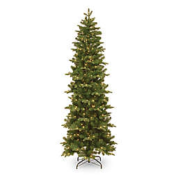 National Tree Company® 6.5-Foot Pre-Lit Prescott Slim Fir Artificial Christmas Tree