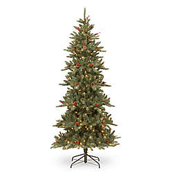 National Tree Company® 7-1/2-Foot Pre-Lit Richland Fraser Fir Artificial Christmas Tree