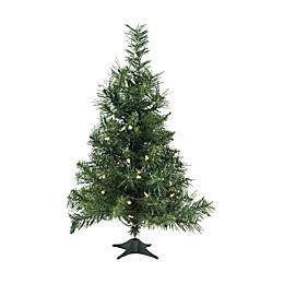 Northlight 2-Foot Traditional Pre-Lit Christmas Tree